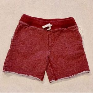 Red Tucker + Tate Boys Red Sweat Shorts
